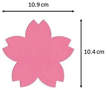 2色 100枚 【Amazon.co.jp 限定】和紙かわ澄 桜 和紙 さくらのかたち スーパーバリューパック 100枚 Aセッ_画像3