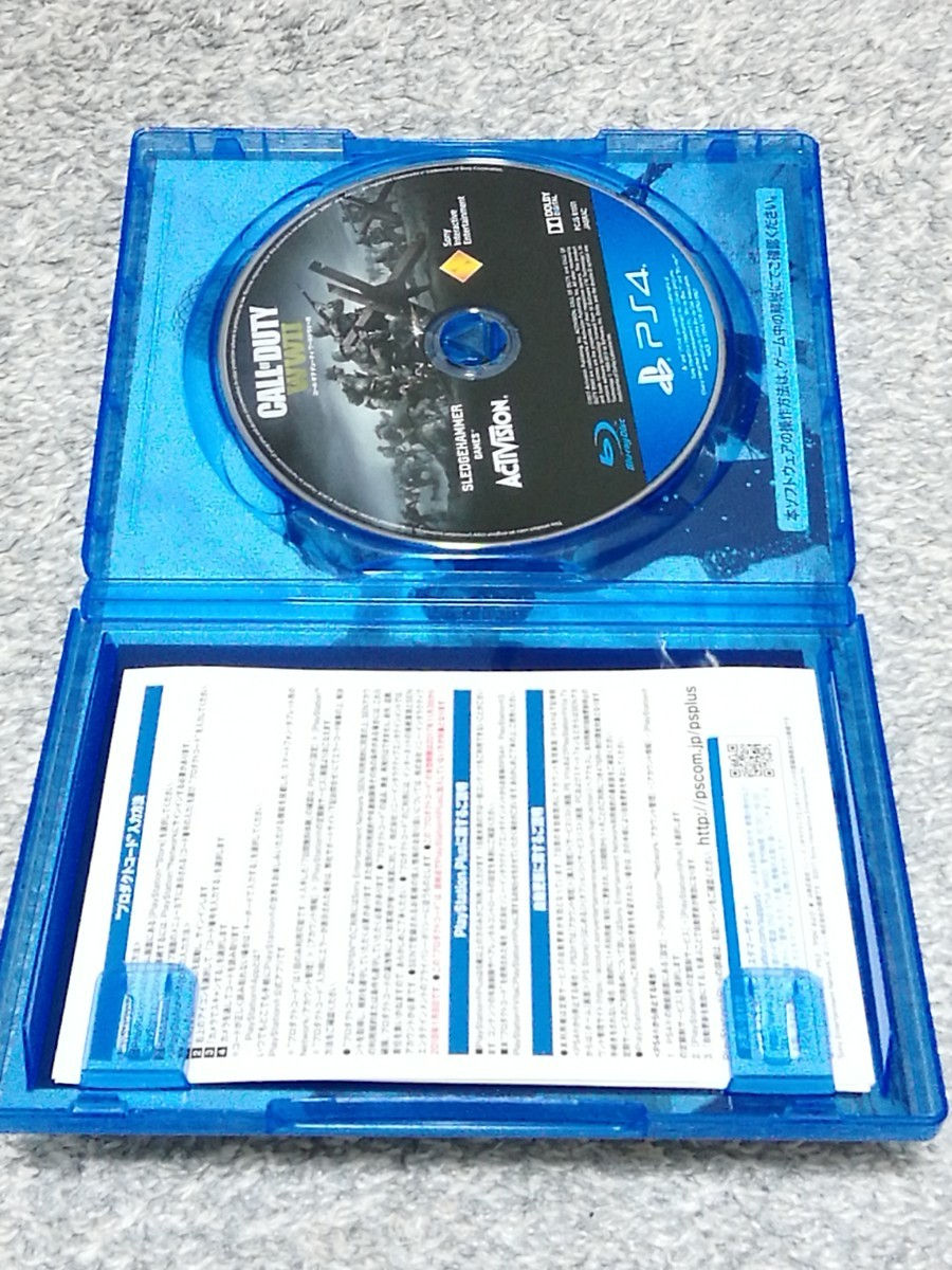 PS4 CALL OF DUTY WW2 コールオブデューティ