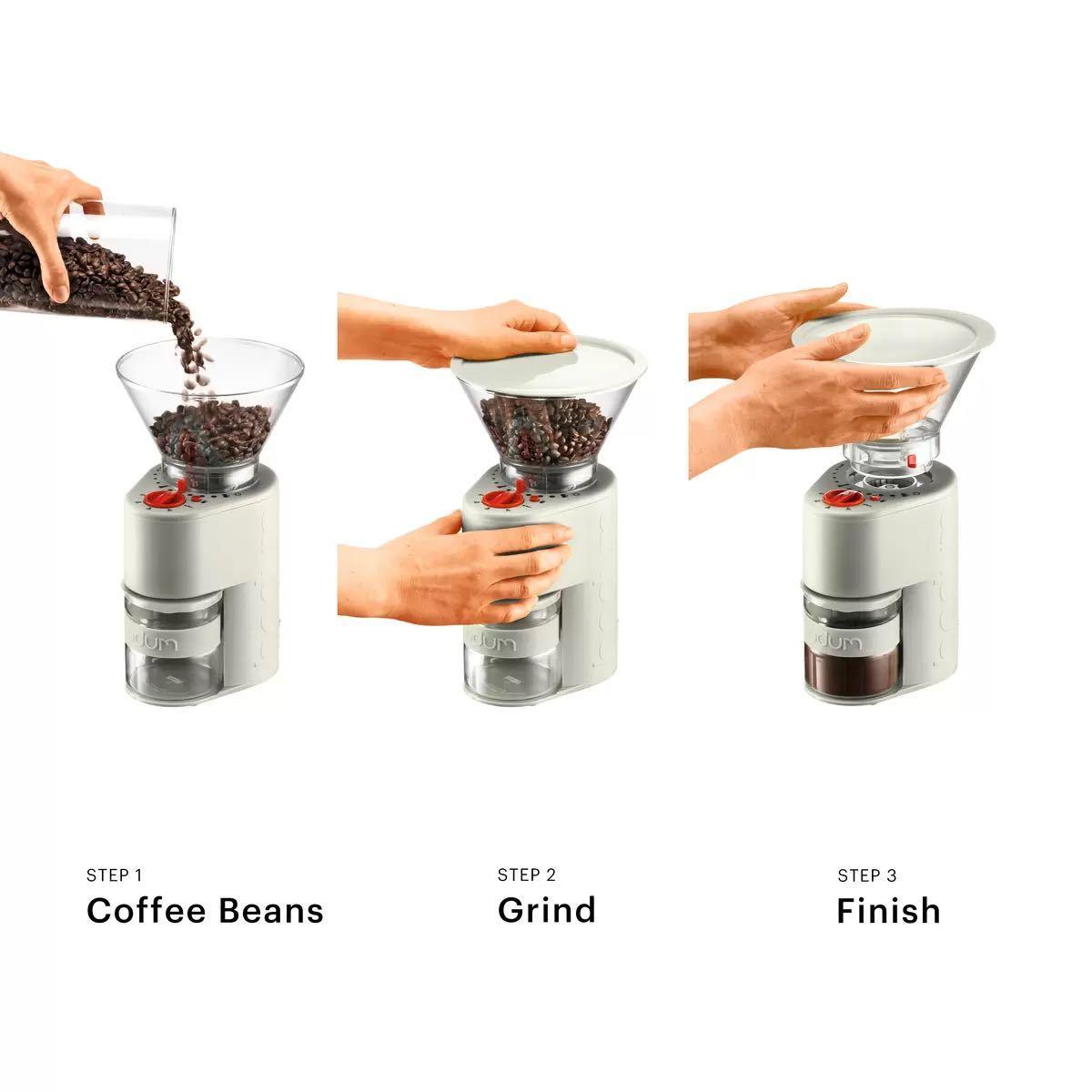 ボダム ビストロ コーヒーグラインダー