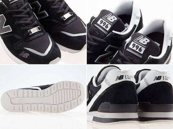 新品/NEW BALANCE/ニューバランス/CM996CPC/BLACK/WHITE/ブラック/ホワイト/黒/白/ワイズD/27.0cm_画像3