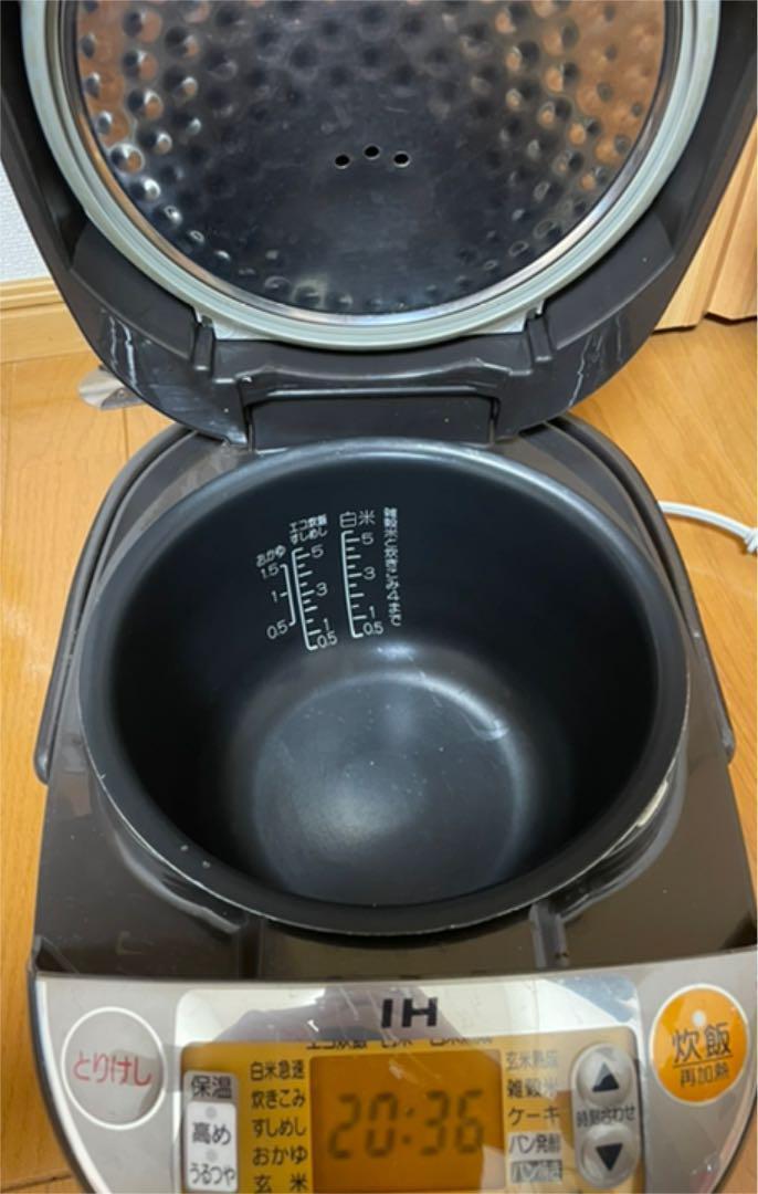 ZOJIRUSHI 5.5合 IH炊飯ジャー NP-VN10 炊飯器 激安