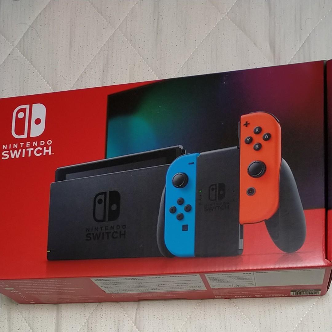 Nintendo Switch ネオンレッド ニンテンドースイッチ本体 Switch本体 任天堂