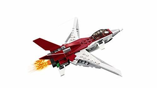 レゴ(LEGO) クリエイター スーパージェット機 31086 ブロック おもちゃ 女の子 男の子_画像6