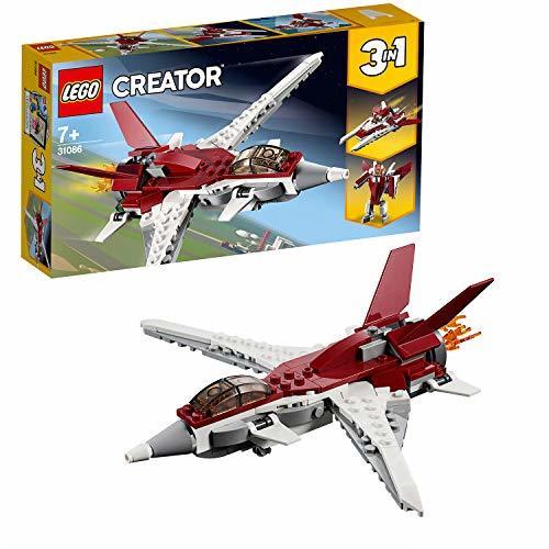 レゴ(LEGO) クリエイター スーパージェット機 31086 ブロック おもちゃ 女の子 男の子_画像10