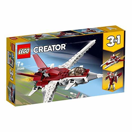 レゴ(LEGO) クリエイター スーパージェット機 31086 ブロック おもちゃ 女の子 男の子_画像9