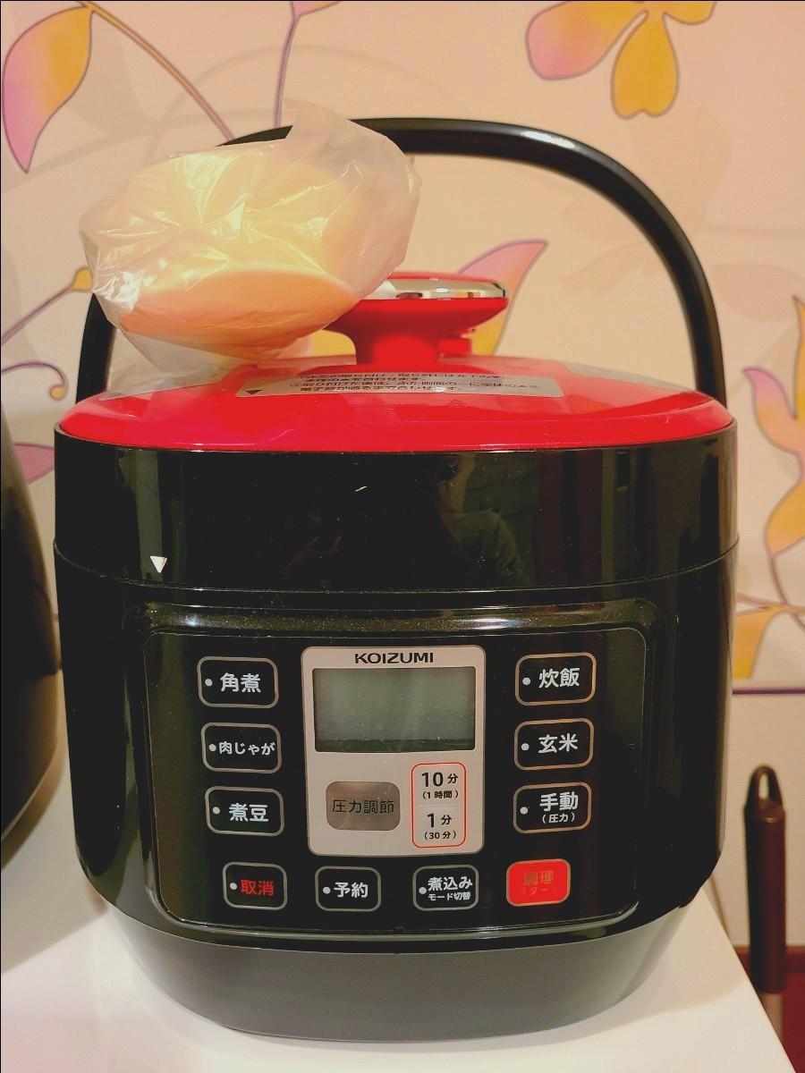 【新品!】コイズミ マイコン電気圧力鍋 KOIZUMI