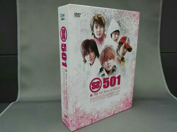 The 1st STORY of SS501(DVD) コンサートグッズの画像