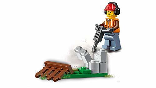 レゴ(LEGO) シティ 工事現場のシャベルカー 60219 ブロック おもちゃ 男の子 車_画像6