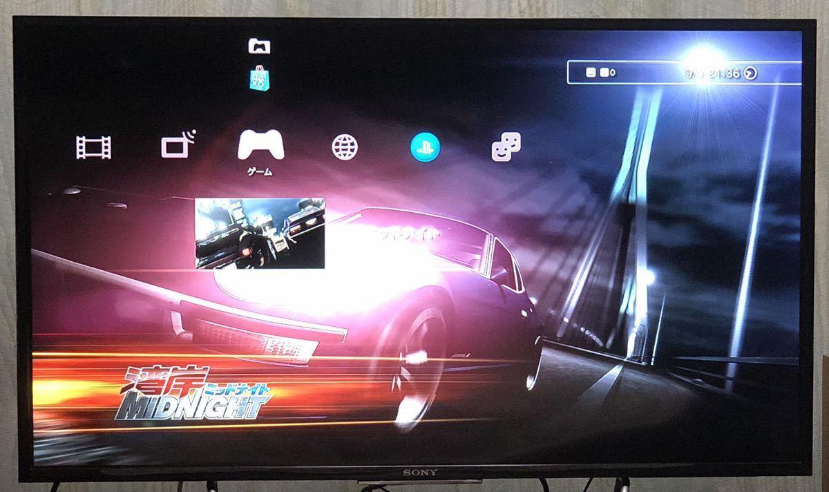 【動作確認画像有り】 PS3 湾岸ミッドナイト MIDNIGHT プレイステーション3 プレステ3 ゲームソフト カセット レース *取扱説明書欠品