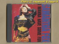 ★即決★ SAMANTHA FOX (サマンサ・フォックス) / I WANNA HAVE SOME FUN -- 1988年発表アルバム_画像1