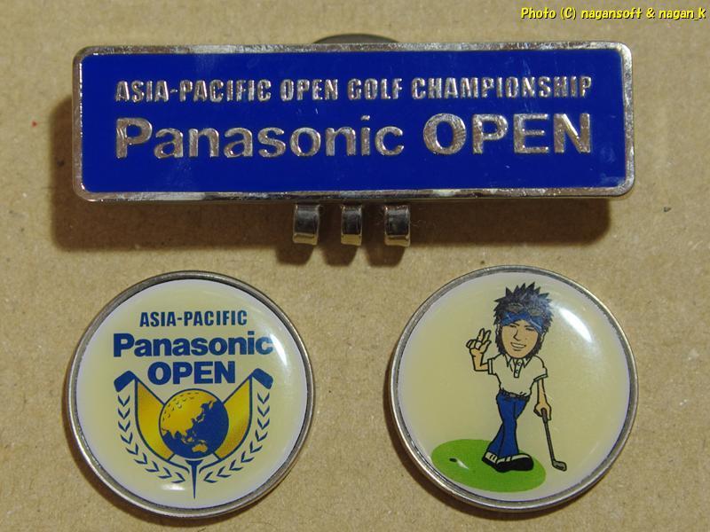 ★即決★ クリップマーカー2種 (TOKYU LADIES GOLF 2004、Panasonic OPEN)、ゴルフボール (BRIDGESTONE JOKER)_画像4