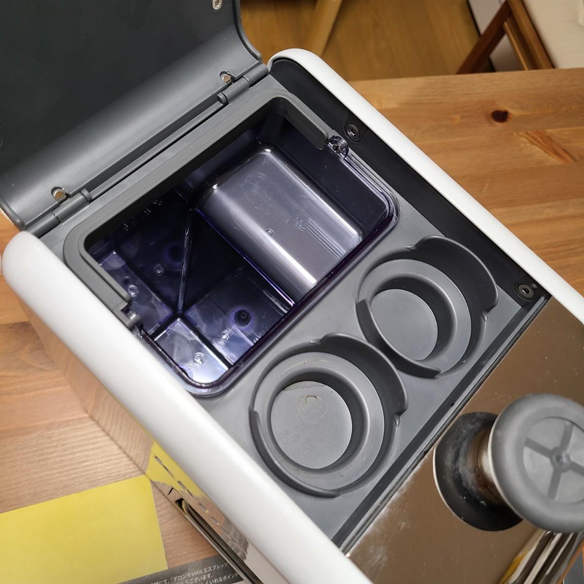 デロンギ DeLonghi ケーミックス エスプレッソ カプチーノ メーカー ES020J ホワイト