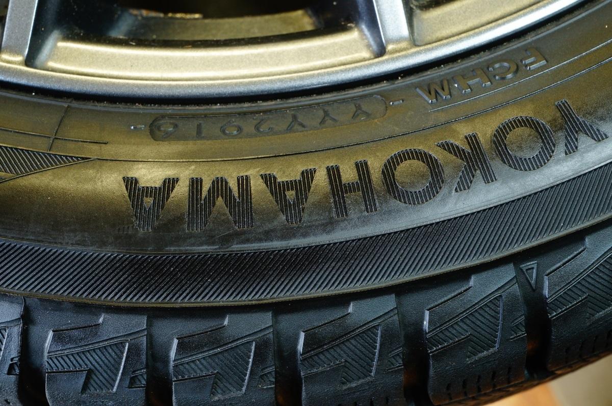 軽乗用車 アルミホイール VELVA SPORT 4.5JX15 ヨコハマ IG50+ 165/60R15 4本セット 日時指定可 個人宅可 税込 送料格安 宮城県名取市_2016年製