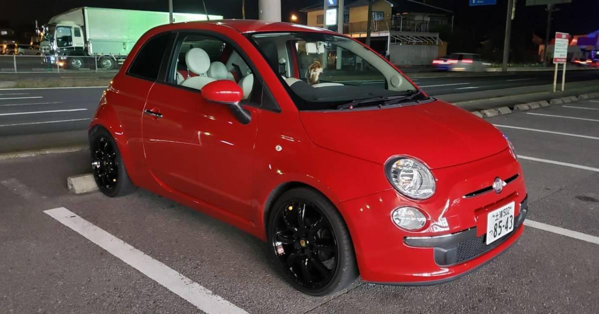 「値下しました。FIAT500/1.2POP/車両入れ換えの為売りきりです」の画像1