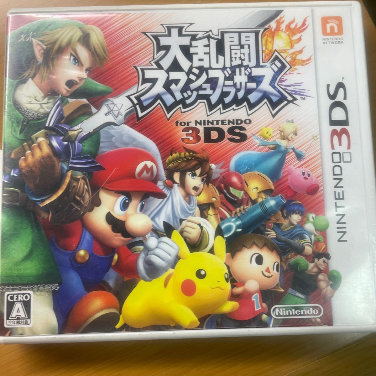 大乱闘スマッシュブラザーズ 3DS ニンテンドー3DS for Nintendo 3DS 大乱闘スマッシュブラザーズ3DS
