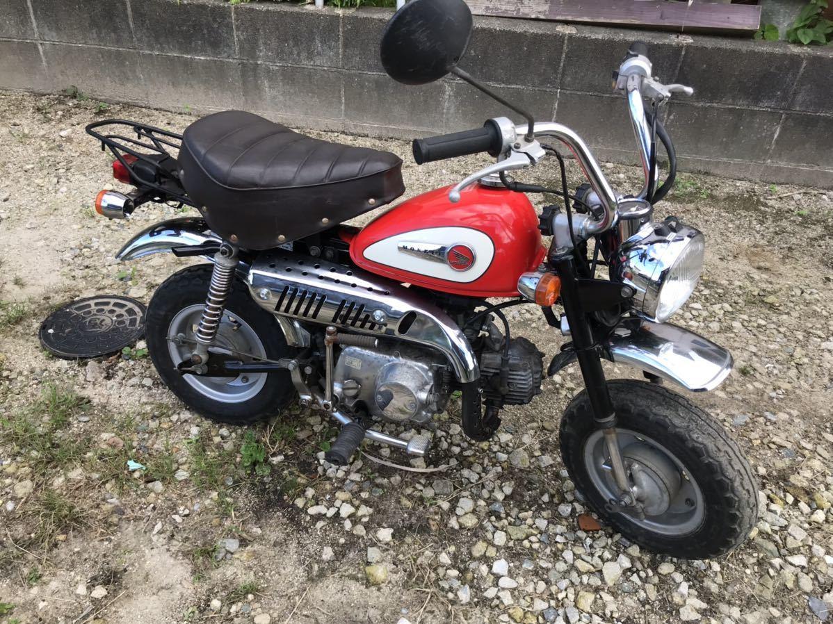 「 ホンダ AB27 モンキー Monkey エンジン フレーム 国産 ノーマル 実働 書類付き 福岡県」の画像1