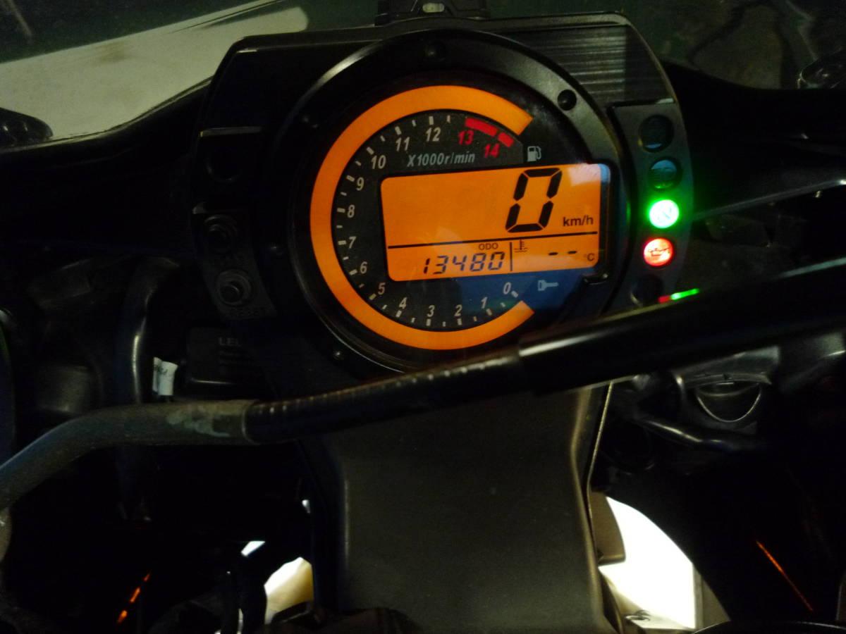 「KAWASAK ZX-10R 黒/緑 車検残R4/1月 名変で乗れます 決算大売り出し価格 諸経費0円 始動確認済み 即納車有り 激安 横浜 都筑 P-Yard」の画像2