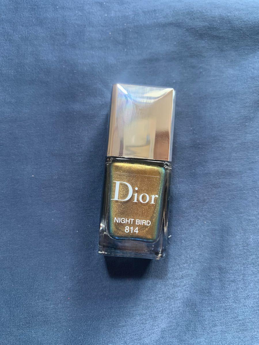 ディオール ネイルカラー 814  Night Bird Dior
