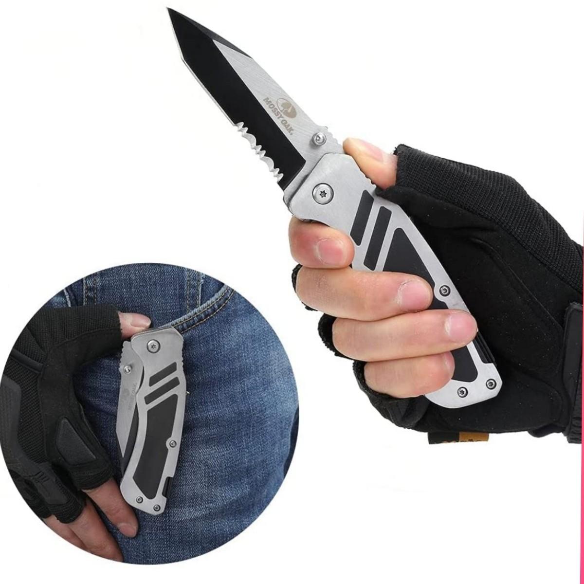 折りたたみナイフ フォールディングナイフ ドライバービット付 PH3&T2.5