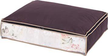 ブラウン アストロ 羽毛布団 収納袋 シングル用 ブラウン 不織布 活性炭消臭 コンパクト 617-45_画像1