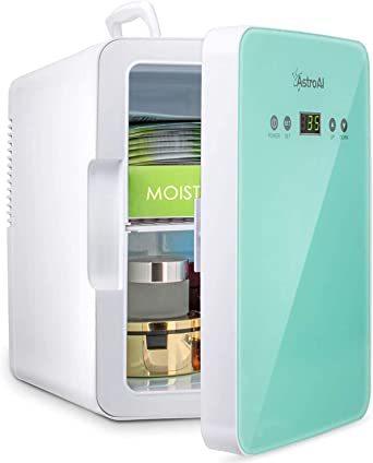 グリーン グリーン AstroAI 冷蔵庫 小型 ミニ冷蔵庫 小型冷蔵庫 冷温庫 2℃~60℃温度調整可能 6L 化粧品 小型で_画像1