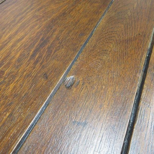イギリス アンティーク 家具 ダイニングテーブル ドローリーフテーブル 拡張天板 木製 オーク 英国 TABLE 6144c_画像10