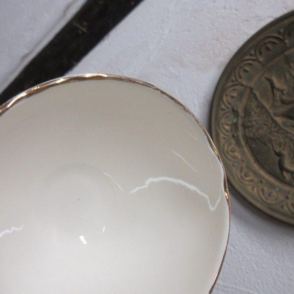 イギリス ヴィンテージ雑貨 Cauldon ミニボウル シュガーボウル 砂糖入れ キッチン雑貨 英国製 tableware 1874sa_画像6