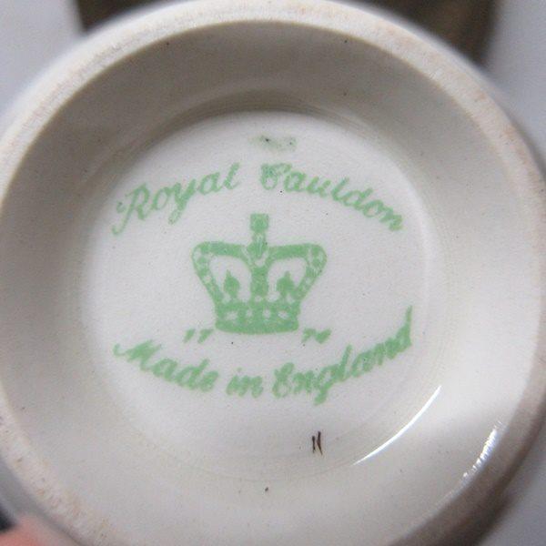 イギリス ヴィンテージ雑貨 Cauldon ミニボウル シュガーボウル 砂糖入れ キッチン雑貨 英国製 tableware 1874sa_画像4