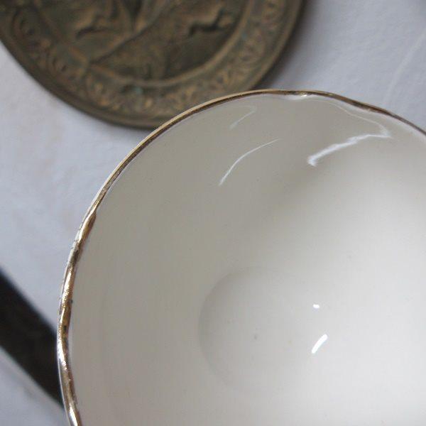 イギリス ヴィンテージ雑貨 Cauldon ミニボウル シュガーボウル 砂糖入れ キッチン雑貨 英国製 tableware 1874sa_画像7
