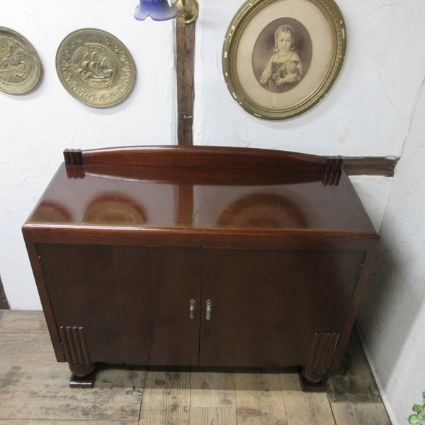 イギリス アンティーク 家具 サイドボード キャビネット 食器棚 飾り棚 収納 木製 オーク 英国 SIDEBOARD 6199c 新入荷_画像5