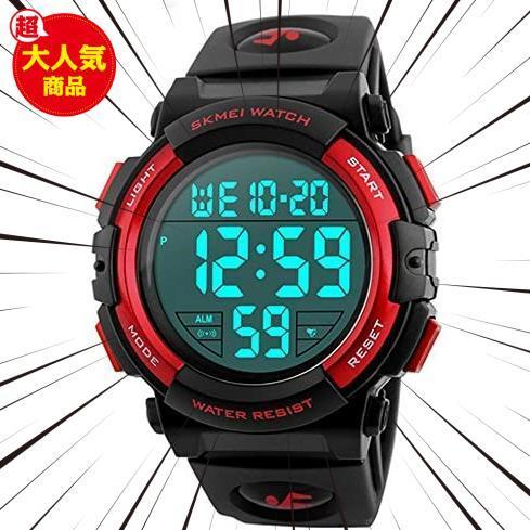 新品Timever(タイムエバー)デジタル腕時計 メンズ 防水腕時計 led watch スポーツウォッチ アラームL3C0_画像1