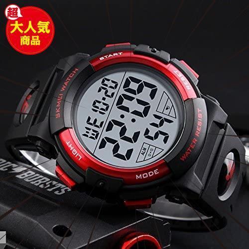 新品Timever(タイムエバー)デジタル腕時計 メンズ 防水腕時計 led watch スポーツウォッチ アラームL3C0_画像2