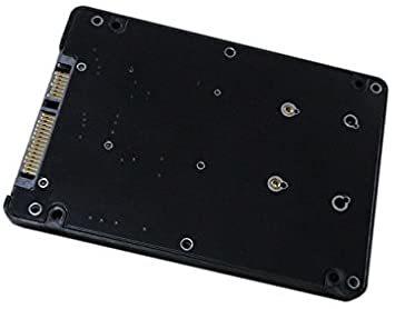 mSATA MINI PCI-E SSD→2.5インチ SATA3 変換アダプタ 7mm プラスチック ケース付き_画像1