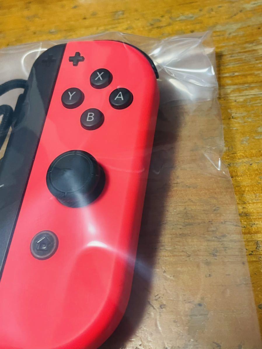 中古品 美品 動作確認済 一応ジャンク品扱い 任天堂 Nintendo Switch ニンテンドースイッチ Joy-Con(R) ネオンレッド 右 ジョイコン 送140_画像3