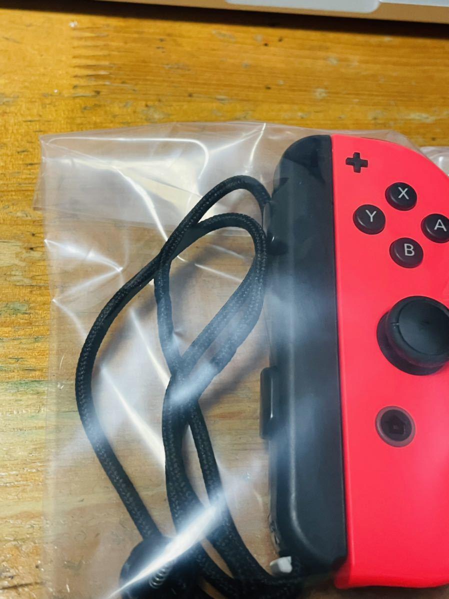 中古品 美品 動作確認済 一応ジャンク品扱い 任天堂 Nintendo Switch ニンテンドースイッチ Joy-Con(R) ネオンレッド 右 ジョイコン 送140_画像2