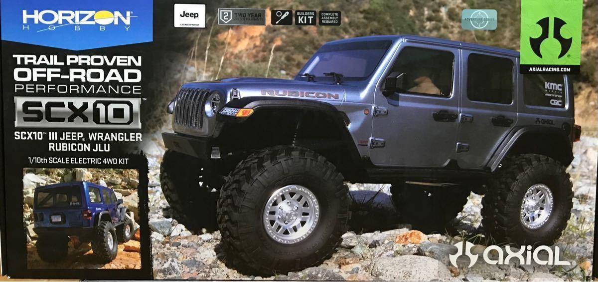 Axial SCX10III Jeep Wrangler KIT 組立キット 新品未開封 アキシャル ジープラングラー クローラー