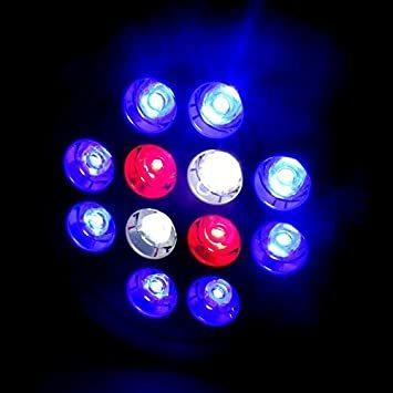 アクアリウムライト LEDライト 24W E26口金 青8 赤2 白2灯 水槽照明 熱帯魚 海水魚 水草 植物育成 海水 スポッ_画像5