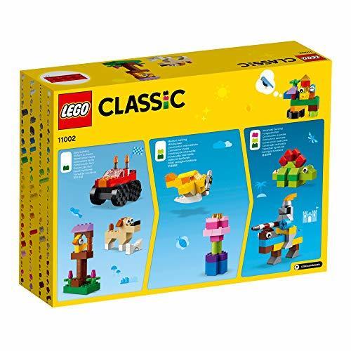 レゴ(LEGO) クラシック アイデアパーツ<Mサイズ> 11002 知育玩具 ブロック おもちゃ 女の子 男の子_画像3