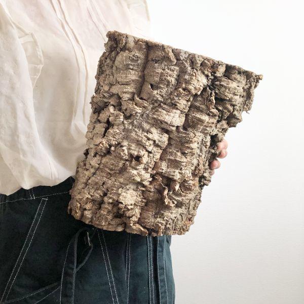 【T6737】★2枚組★ 板型 コルク樹皮 エアプランツ エアープランツ チランジア コウモリラン DIY テラリウム 洋蘭 天然素材 爬虫類_画像3