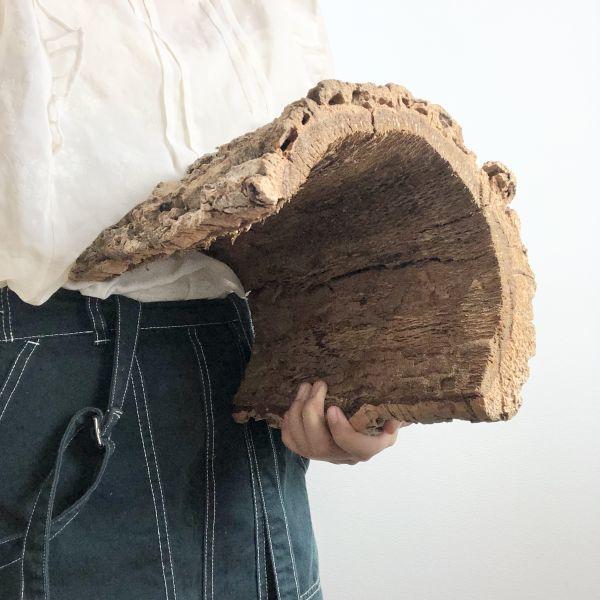 【T6735】★2枚組★ 板型 コルク樹皮 エアプランツ エアープランツ チランジア コウモリラン DIY テラリウム 洋蘭 天然素材 爬虫類_画像3