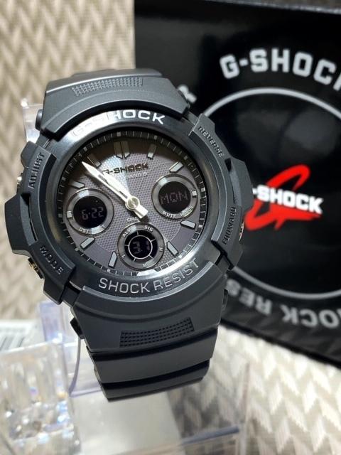 新品 CASIO カシオ 正規品 G-SHOCK Gショック ジーショック 電波ソーラー腕時計 アナデジ 防水 ブラック 20気圧防水 多機能腕時計 メンズ_画像5
