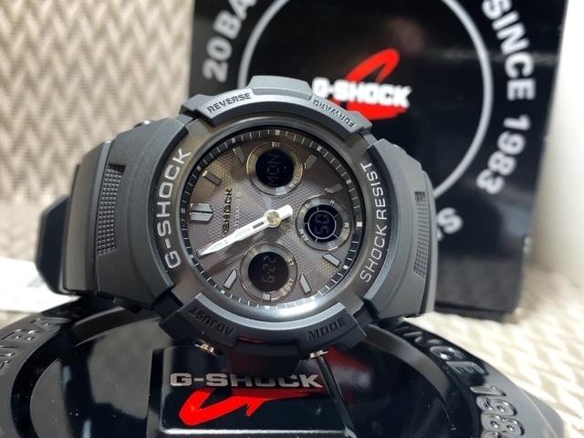 新品 CASIO カシオ 正規品 G-SHOCK Gショック ジーショック 電波ソーラー腕時計 アナデジ 防水 ブラック 20気圧防水 多機能腕時計 メンズ_画像8