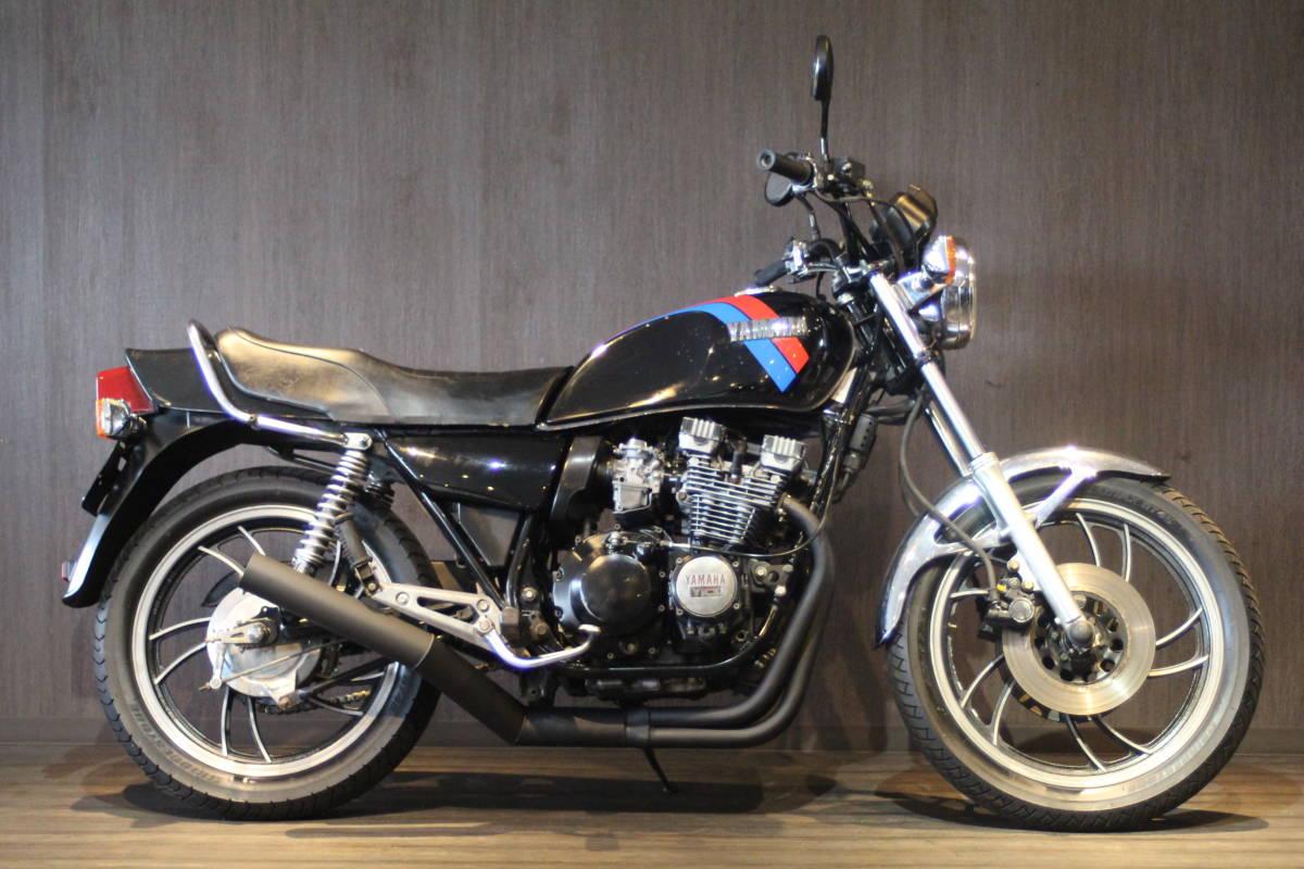「1980年モデル ヤマハ XJ550 検無 オリジナル外装 4V8」の画像1