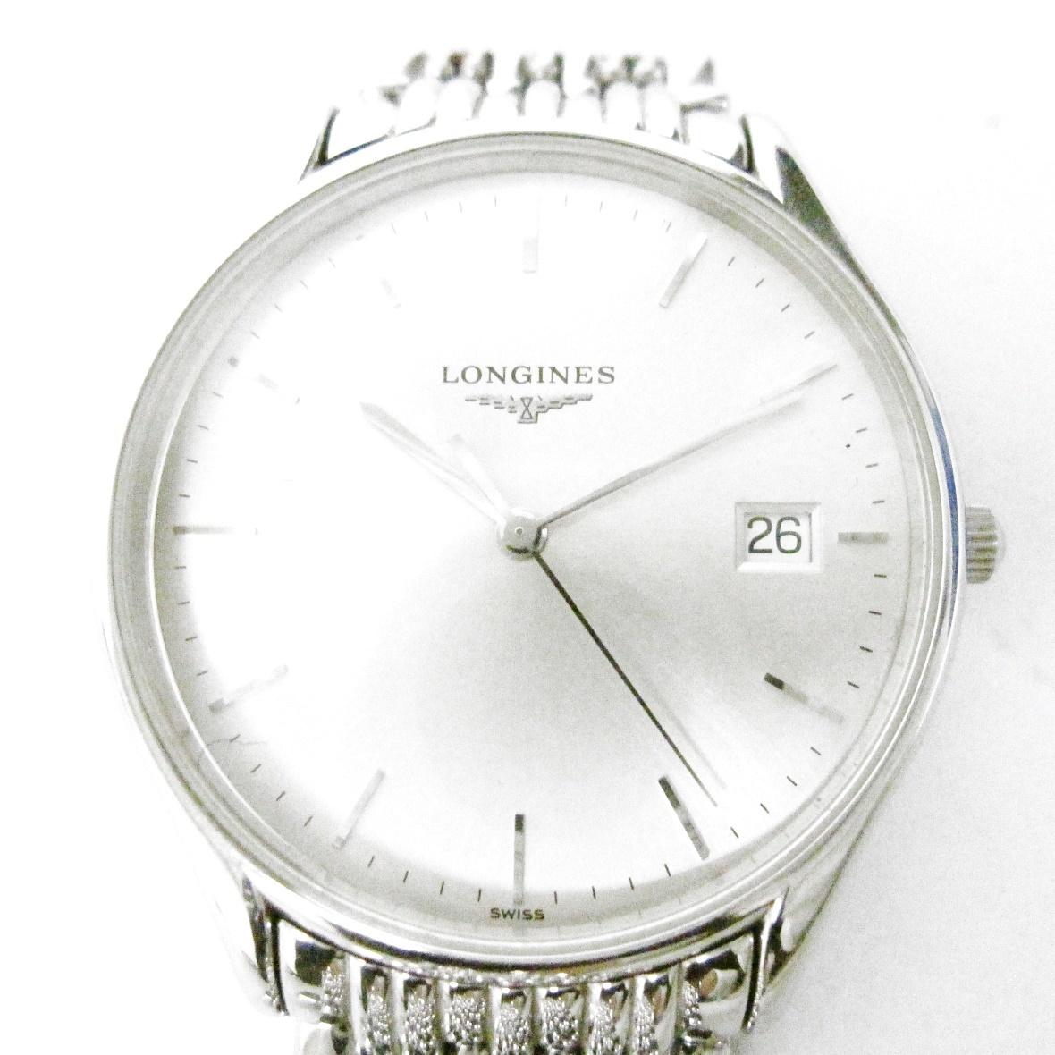 10 23-429355-08 [S]【A】 LONGINES ロンジン L4 759 4 グランドクラシック クオーツ 腕時計 メンズ ファッション 小物 名23