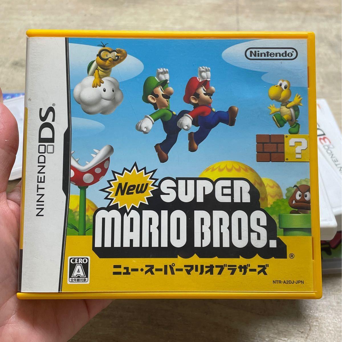 ニュー・スーパーマリオブラザーズ DSソフト Newスーパーマリオブラザーズ ニンテンドー 任天堂 ニンテンドーDS 3DS