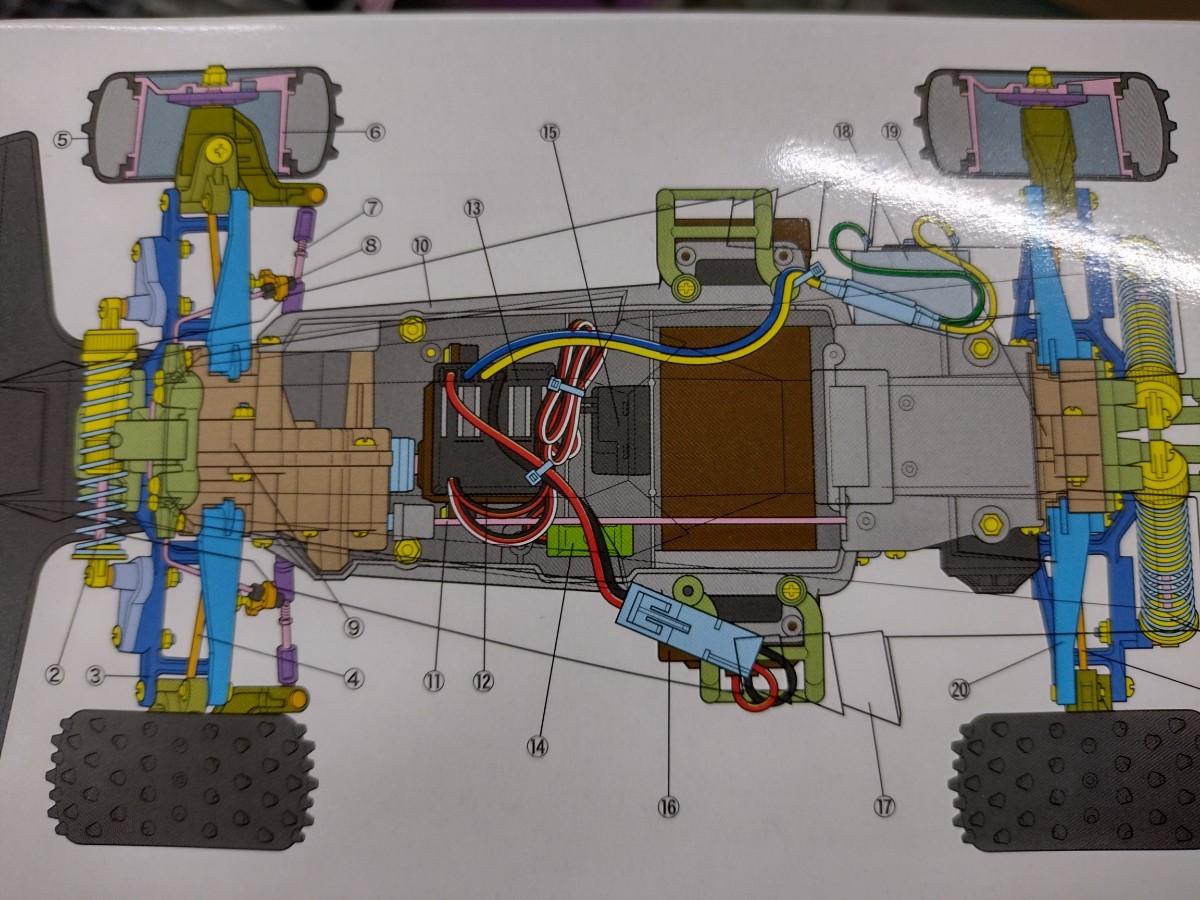 タミヤ サンダードラゴン2021 復刻版 1/10RCC 電動 4wdバギー サンダーショット系 コロコロコミック TAMIYA