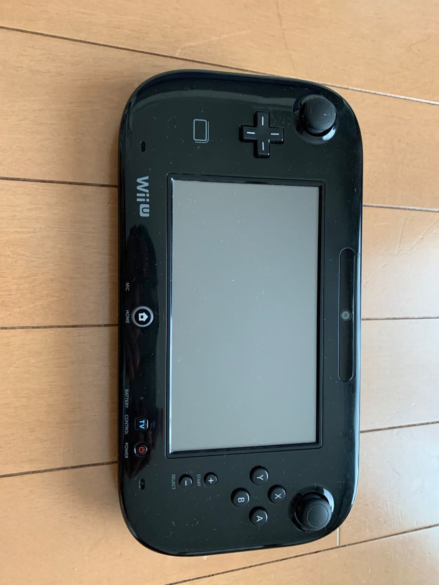 動作確認・簡易消毒済 おまけ付き Nintendo Wii Uフレミアムセット ウィーユー 任天堂 ゲームパッド