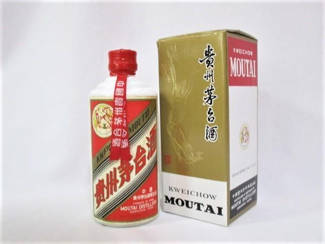 1円スタート古酒 貴州茅台酒 マオタイ 375ml 53% 約721g KWEICHOW MOUTAI