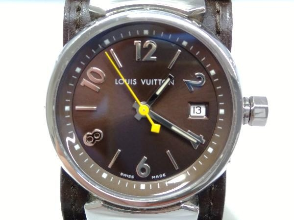 LOUIS VUITTON ルイ・ヴィトン タンブール Q1211 DL9422 2021年9月電池交換済 時計 店舗受取可_画像1