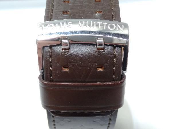 LOUIS VUITTON ルイ・ヴィトン タンブール Q1211 DL9422 2021年9月電池交換済 時計 店舗受取可_画像4